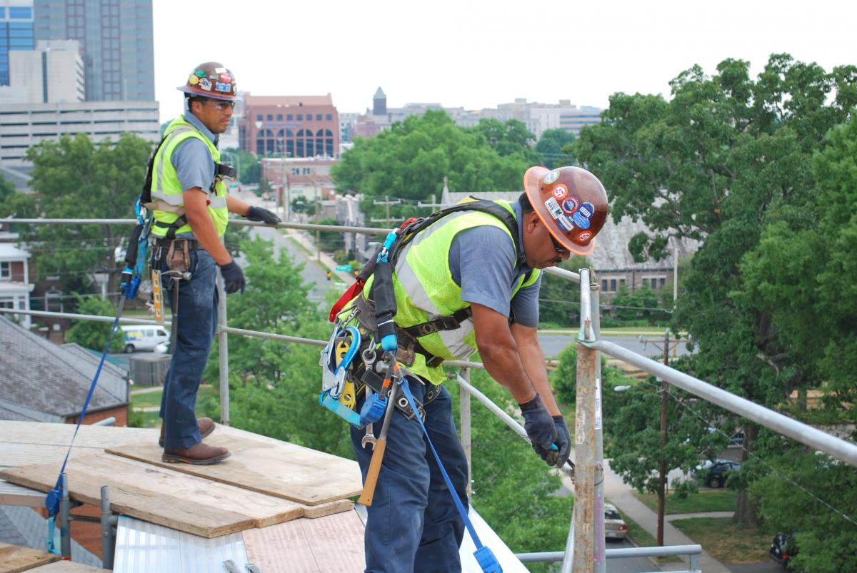 Fixed barrier systems and fall protection
